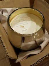"""Pottery Barn Opus Recycled Mercury Candle Pot Chamomile Blossom 3.75"""" #2541"""