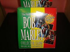 Bob Marley Collector Cards, Trading Cards, Unopened Box  Sealed by Island Vibes