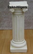 Antik Säule Blumensäule Tisch Design Barock Säulen Stuckgips  Deko 1011 Crem