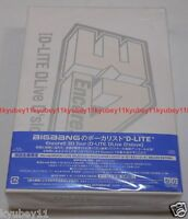 Encore 3D Tour D-LITE DLiveD'slove DELUXE EDITION Blu-ray CD Photobook BIGBANG