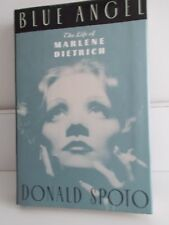 BLUE ANGEL  THE LIFE OF MARLENE DIETRICH HARD COVER BOOK
