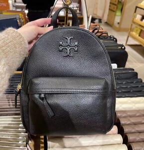 NWT Tory Burch Thea Mini Backpack, Black, MSRP $350