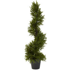 "30"" Rosemary Spiral Tree Artificial High Quality Fake Silk Plant In/Outdoor 5351"