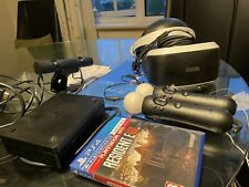 PS VR Headset V2 & Camera Bundle With Move Controllers & a Game - psvr PS4 PS5