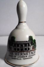 """PREOWNED BUT NEVER USED 3 1/2"""" HIGH PORCELAIN DECORATIVE BELL FEATURING ANDREW J"""