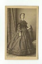 19th Century Fashion - 1800s Carte-de-visite Photograph - Numa Blanc of Paris