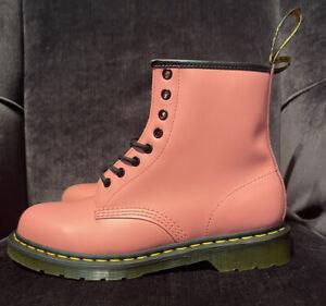 Dr Martens 1460 Acid Pink Smooth Leather Boots Men's US 9/Women's US 10