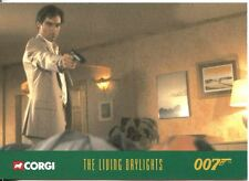 James Bond Corgi Cars Exclusive Trading Card #43 The Living Daylights