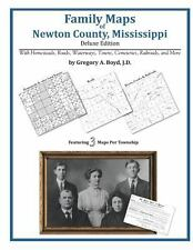 Family Maps of Newton County, Mississippi (Paperback or Softback)