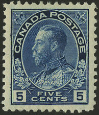 Canada   1914  Unitrade # 111  VF+ - Mint Lightly Hinged