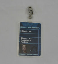 Aliens/Prometheus ID Badge-David 8 Support and Assitance Android w/photo