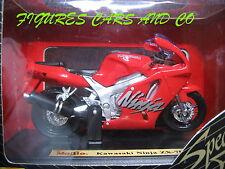 MOTO1/18 KAWASAKI NINJA ZX 7R ROUGE 1996  MOTORCYCLE MAISTO