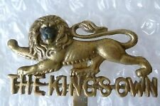 Badge- The King's Own Royal Lancaster Regiment Badge (Brass)