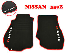 Carmats Fully Tailored Custom Fit for Nissan 350Z 2002-2008 Floor Mats Nismo