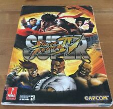Super Street Fighter IV Prima Official Game Guide - Xbox 360 / PlayStation 3