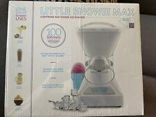Little Snowie Max Shaved Ice Machine Bundle