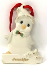 Lenox Merrily Yours Personalized Ornament China Penguin &