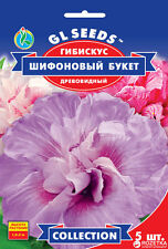 Hibiscus syriacus Chiffon bouquet Terry Flower Seeds from Ukraine