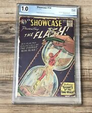 SHOWCASE #14 DC 1958 4th App of Appearance of The Flash 1.0 Not CGC- pgx