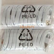 20X 8 Pin USB Charger Cord Cable for iPhone 6 6S iPhone 5 5S Wholesale Lot Bulk