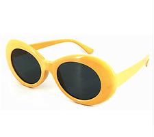 Occhiali RAPPER Clout Occhiali Occhiali Da Sole Costume Tonalità gialle ovali Grunge