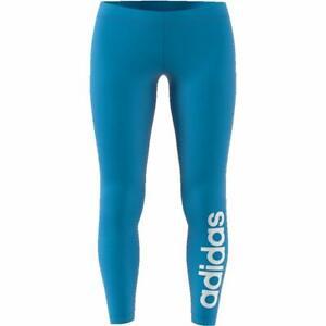 Adidas Linear Leggings for Women Blue Sport Gym Yoga SportsWear Brand New RRP£30