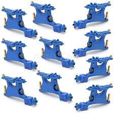 10pcs Pro rotary motor tattoo gun machine liner shader A7 Blue Swashdrive WHIP