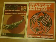 Stanley Brinks - Scottish tour Glasgow concert gig posters x 2