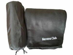 Original Havana Club Decke, Fleecedecke NEU in praktischem Beutel