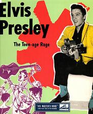 "ELVIS PRESLEY  25CM  HIS MASTER'S VOICE  "" THE TEEN-AGE RAGE ""   [UK]"
