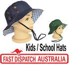 Kid Child Girl Toddler Bucket  School Sun Hat Sunhat Cap Cotton Adjustable Size