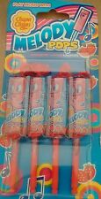 Pack 4 fraise chupa chups melody pops-royaume-uni vendeur-post world wide