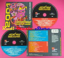 CD AREZZO WAVE COMPILATION 2001 no mc vhs dvd (C38)