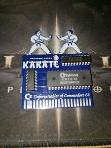 International Karate Commodore 64 Cartridge