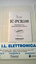 MANUALE IN ITALIANO istruzioni d'uso per ICOM IC-PCR100