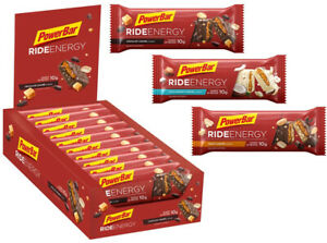 PowerBar Ride Energy Bars 55g Box of 18 Sports Supplement Nutrition Exercise
