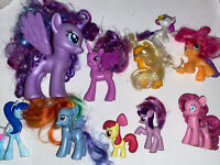 Lot Of 10 Of My Little Pony Figures Very cute and in VGC