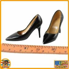 WWII US Female Agent - High Heel Shoes - 1/6 Scale - Pop Toys Action Figures