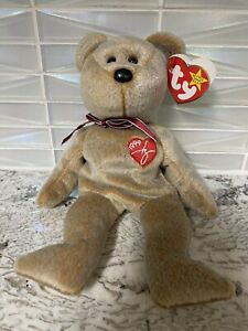 Ty 1999 Signature Bear Beanie Baby With Tags