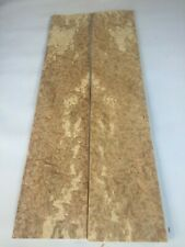 Oak Burr Veneer - NATURAL WOOD - 8 Consecutive Sheets - 700mm x 140mm