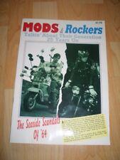 MODS & ROCKERS SEASIDE SCANDALS VESPA LAMBRETTA BACK STREET HEROES TEDDY BOYS