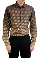 Valentino Men's Multi-Color Long Sleeve Dress Shirt US 17 IT 43