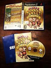 Super Monkey Ball Deluxe Ps2 Edizione Inglese Completa con Manuale
