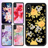 iPhone XS MAX XR X 8 Plus 7 6s SE 5c 5s 5 Case Flower V Bumper Cover For Apple