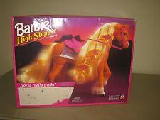 NEW NRFB VINTAGE 1994  MATTEL Barbie High Stepper Horse Walking