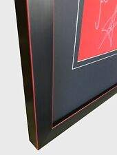 FRAME FOR YOUR SIGNED FOOTBALL/ RUGBY SHIRT + FREE ENGRAVED PLAQUE+SHIRT INSERT