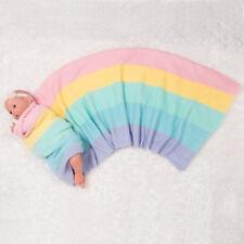 Paradise Galleries Reborn Baby Doll Rainbow Blanket for Toddler Dolls