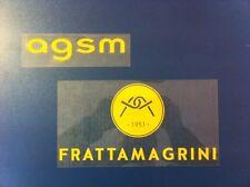 riproduzione sponsor hellas verona FRATTAMAGRINI nuovo new giallo + agsm