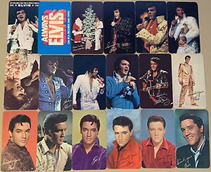 The Complete Collection of Elvis RCA Records 1963-1980 Wallet Calendar Cards NEW