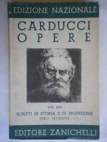 Scritti di storia e erudizione Serie seconda 2Carducci Zanichelliletteratura
